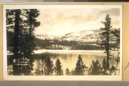 Silver Lake, Amador Co., California. July 1936