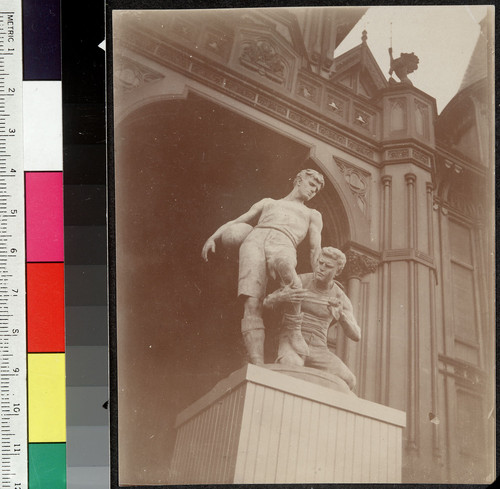 And After. [Douglas Tilden sculpture, Mark Hopkins Institute of Art, California and Mason Sts., Nob Hill.]
