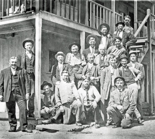 San Diego Land and Town Company Workers