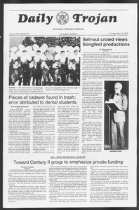 Daily Trojan, Vol. 71, No. 56, May 10, 1977