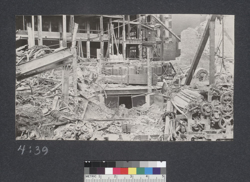 [Ruins and rubble, unidentified location.]
