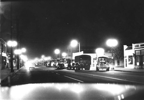 Convoy of Guard vehicles, Watts Riots