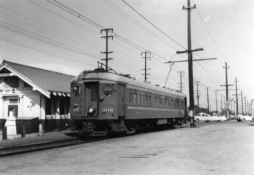 Lynwood Pacific Electric depot