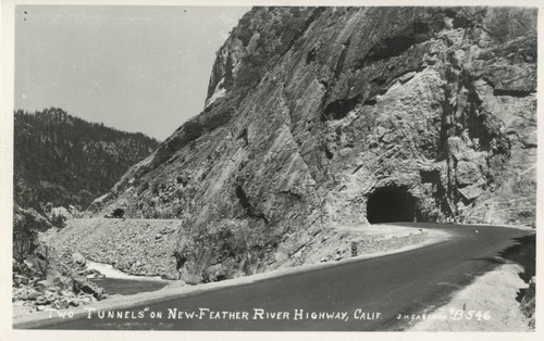 Tunnels on Feather River Highway