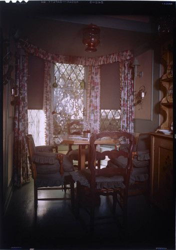 [Unidentified dining rooms]