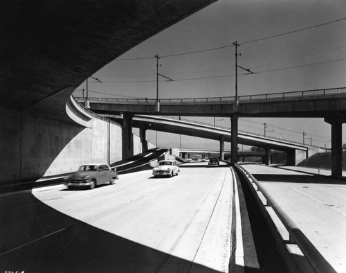 Harbor Freeway near 6th Street