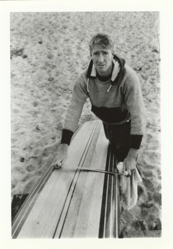 Fred Hunt at Cowell Beach