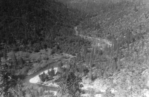Calisphere: South Fork Feather River Below Enterprise