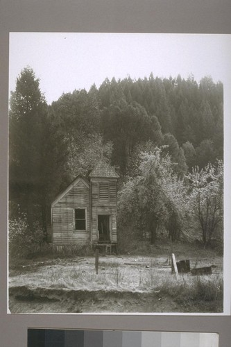 Little School? Church? Washington [Nevada County, Calif.] 1954