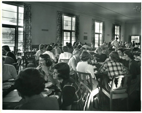 Women's campus dining hall, Pomona College