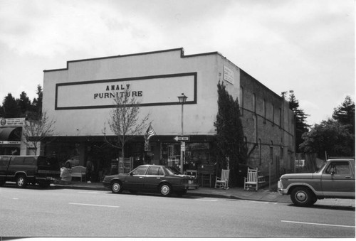 Analy Furniture Store On South Main Street, Sebastopol, Circa 2000, Former  Location Of