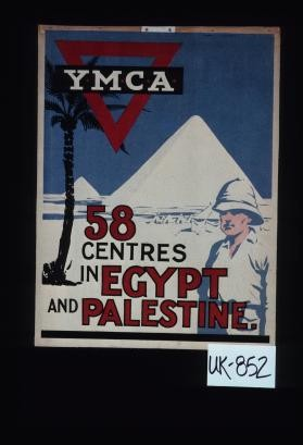 Y.M.C.A. 58 centres in Egypt and Palestine