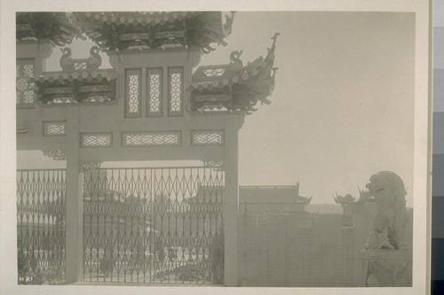 H21. [Gateway to Chinese Pavilion.]