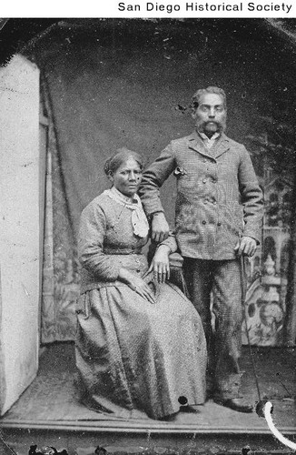 Unidentified African American couple