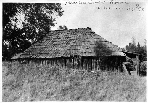 Indian Sweat House (Round House)--Berry Creek Round House