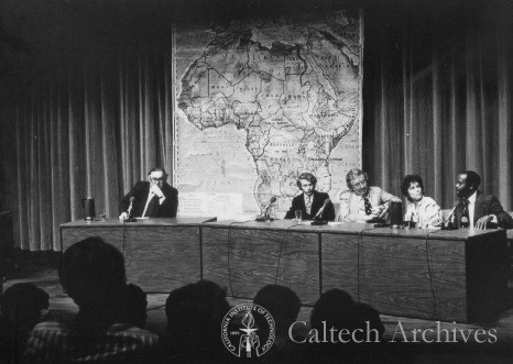 Ned Munger and a panel on Africa