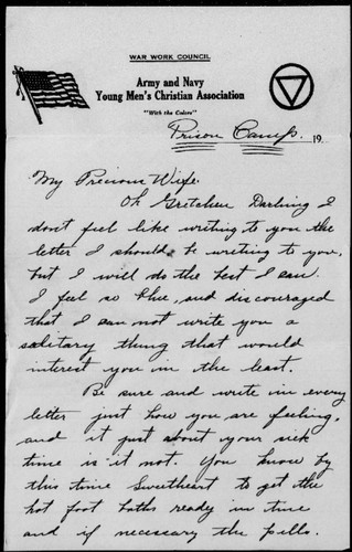 Letters from Charles Byron Swope to Gretchen Swope