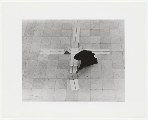Untitled photograph (Performable Object, 1 x 50 Foot Drawing)