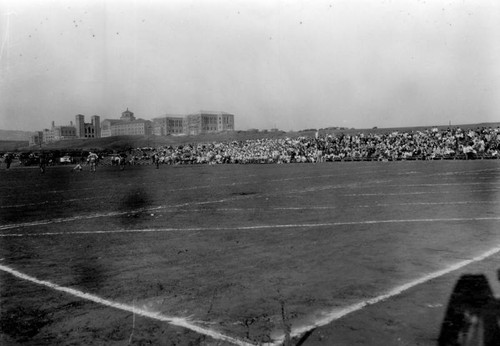 Playing field at U.C.L.A., view 1