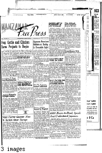 Manzanar free press, June 23, 1943