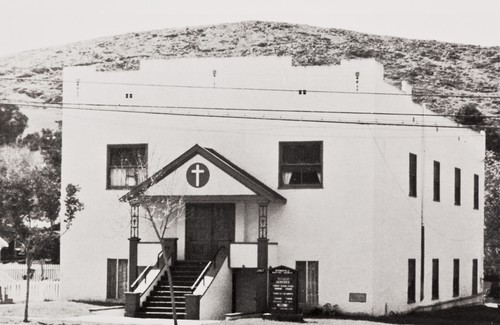 Springfield Baptist Church moved to its present location, 2747 South Broad Street, San Luis Obispo, California, July 14, 1963 ; April 1, 1973 cornerstone laying and homecoming celebration, indebtedness of church building paid off ; July 4, 1976 Springfield Baptist Church participated in the Ecumenical Bicentennial Celebration sponsored by the San Luis Obispo Ministerial Association at Mission Plaza ; a copy of the church history was placed in the San Luis Obispo Historical Society Museum Time Capsule