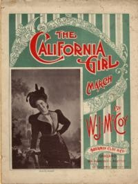 The California girl : march / by W. J. McCoy