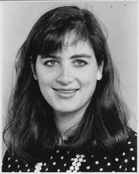 Christine Hanna, vice president of sales and marketing of Hanna Winery, Healdsburg , California, about 1989