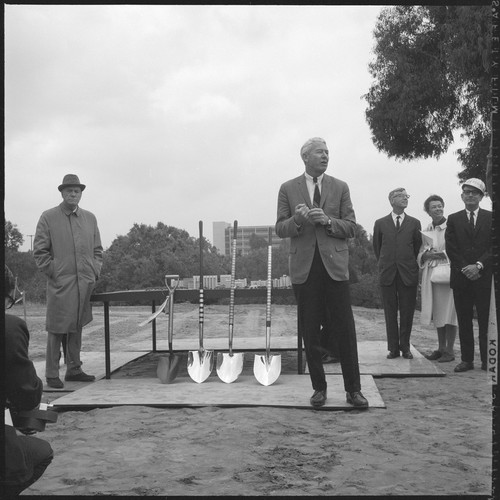 Applied Physics and Mathematics Building groundbreaking