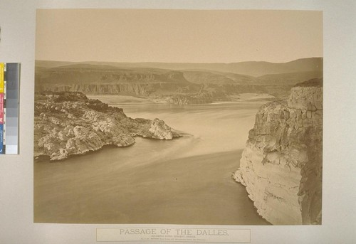 Passage of the Dalles, Columbia River Scenery, Oregon