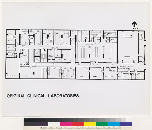 calisphere mt zion hospital and medical center original clinical laboratories floor plan