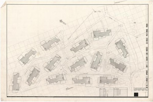 Thunderbird Country Club Units, Plot Plan, 1951