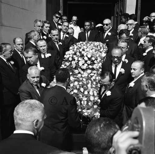 Funeral, Los Angeles, 1965 — Calisphere