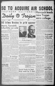 Daily Trojan, Vol. 36, No. 206, September 24, 1945