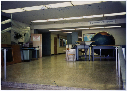 Geography Department Office in Sierra Hall