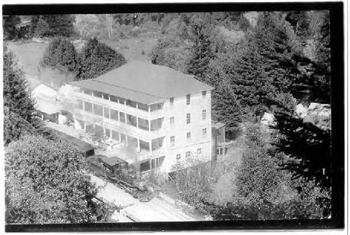 Hotel Rus Monte Rio California 1905