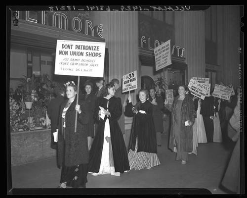 Calisphere International Ladies Garment Workers Union Members