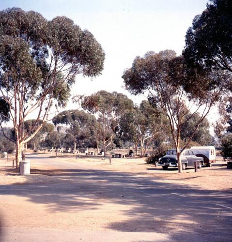 Camping At Doheny Beach Dana Point 1956