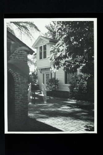 South Front Entrance and Ramp to House, Luther Burbank Home & Gardens, Santa Rosa, California, 1980