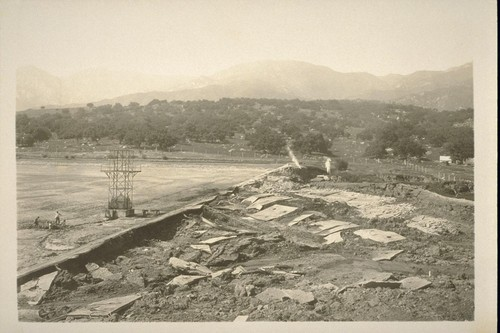 [Sheffield Reservoir, Mission Ridge - Sycamore Creek Watershed, 1925]
