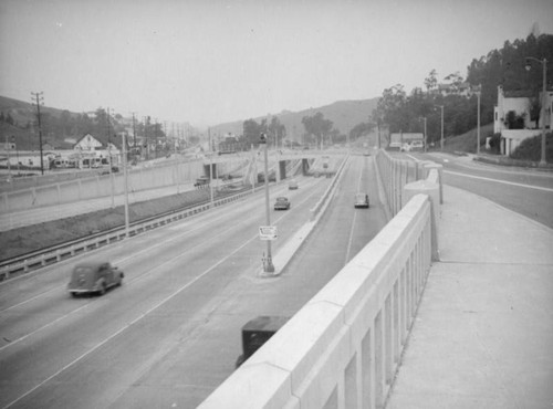 Cahuenga Pass Freeway