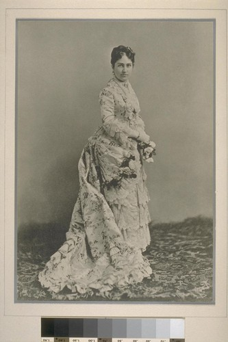 [Portrait of Phoebe Apperson Hearst.]