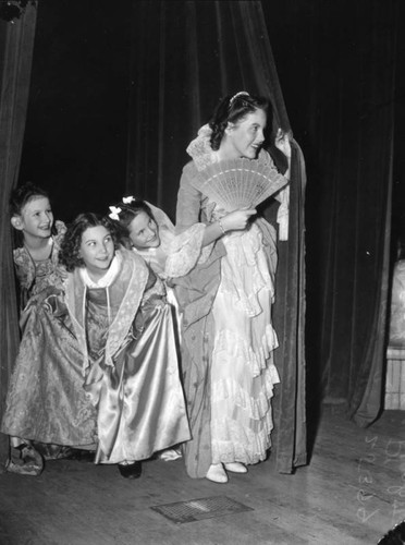 Children in an opera