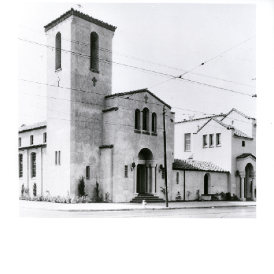 Zion Lutheran Church, southwest corner of 12th and Myrtle Street, c1892-1915