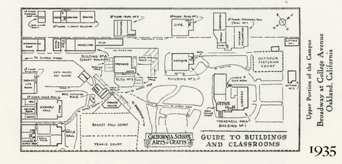 Calisphere Campus Map 1935