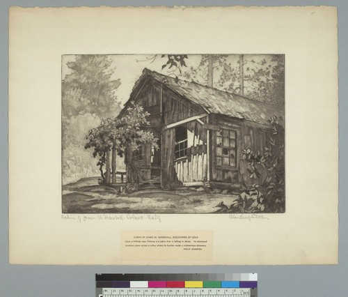 Cabin of James W. Marshall, Coloma, Calif[ornia]