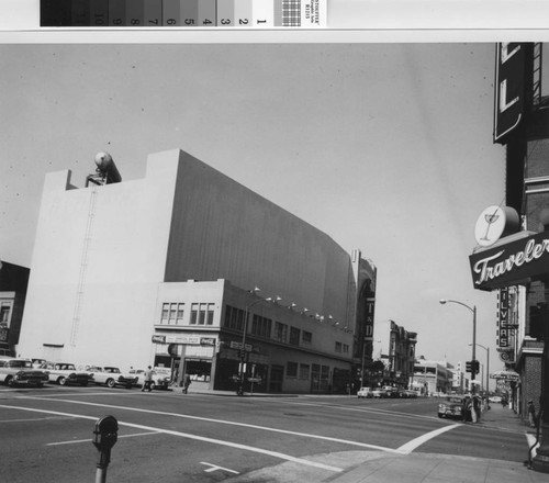 11th St., south side, Franklin St. to Broadway [picture] : April 1958