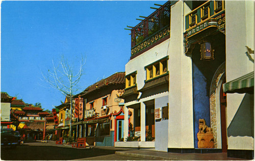 New Chinatown, Los Angeles, California