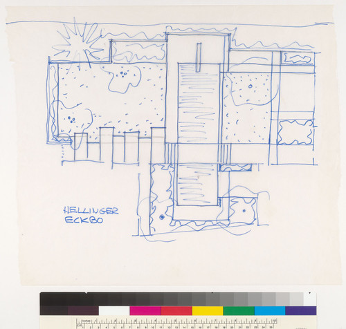 Hellinger (Sam) Residence, Pacific Palisades, CA, 1978-1981