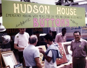 Hudson House information booth
