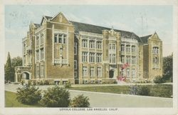 Loyola College, Los Angeles, Calif